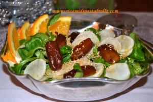 insalata invernale, ricette delle feste, idde insalata,