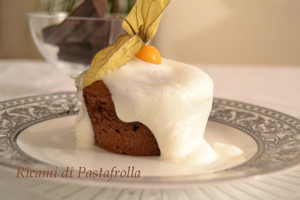 Tortino al cioccolato fondente con cuore morbido