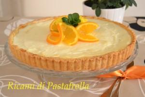 Crostata_dolci_mandarini_ricotta_ricette facili, crostata