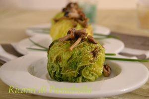 Secondo piatto_verza_vegetariano_ricette veloci_