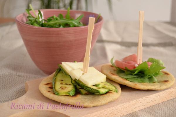 Piadina, piatto unico, ricette facili
