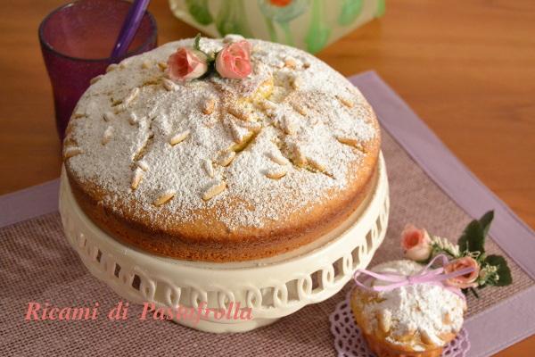 Cake alla ricotta senza burro