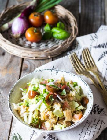 La ricetta della panzanella: semplice e buonissima