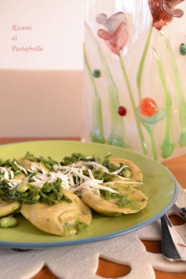 Ravioli ortica, pasta ripiena, pasta fresca, primi piatti, ricami di pastafrolla, pasta fatta in casa
