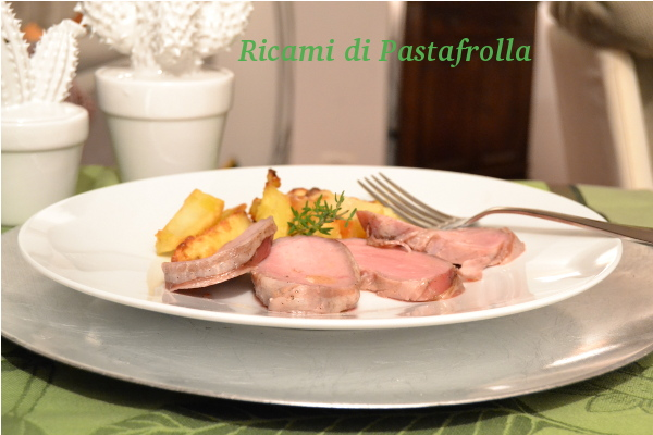 filetto maiale cotto a bassa temperatura