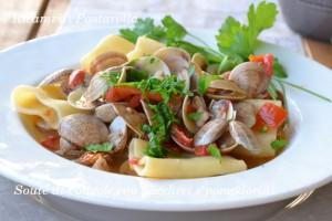 Pasta fresca, primi piatti, pesce, lupini di mare, moscardini