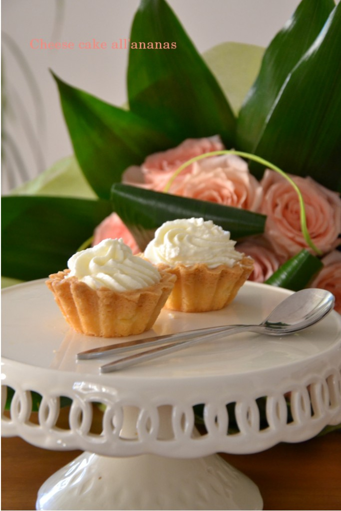 Cheesecake all'ananas di Maurizio Santin