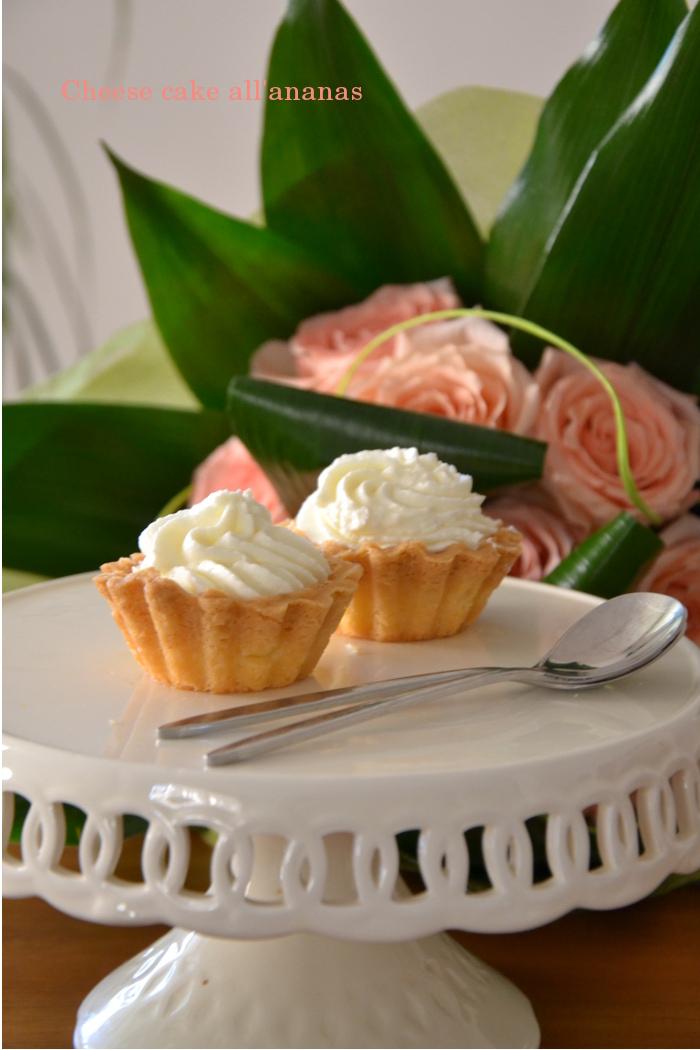 cheesecake ananas, ricetta maurizio santin,