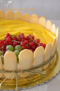 Cheesecake freddo mango e lime