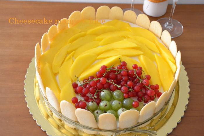 Cheesecake mango e lime