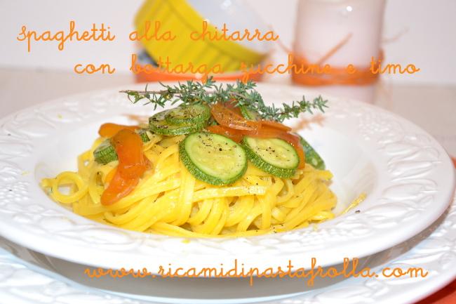 pasta fresca, spaghetti alla chitarra, ricette primi piatti, ricette bottarga