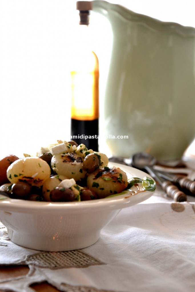 cipolline borettane, ricette cipolle, contorno verdure