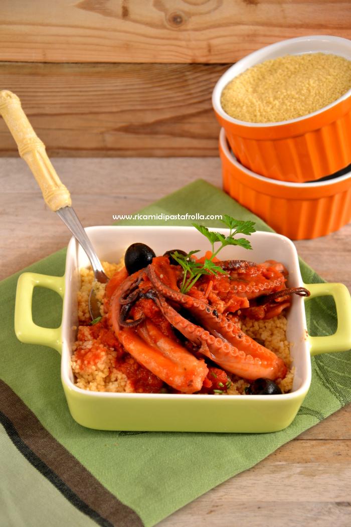 ricette pesce, moscardini, secondi piatti pesce, guazzetto, cous cous,
