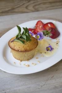 desset, tortino nocciola cuore morbido, ricami di pastafrolla, dessert, dolci al cucchiaio