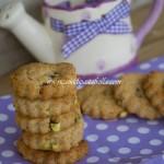 Biscottini ai pistacchi senza senza