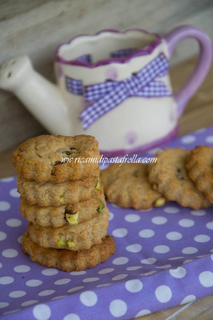 Biscottini ai pistacchi senza uova e burro