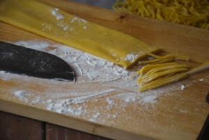 pasta fresca, tagliolini, pasta fatta in casa, pasta all'uovo,