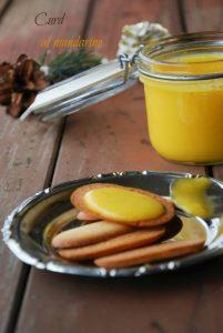 ricette mandarino, crema spalmabile, curd mandarino