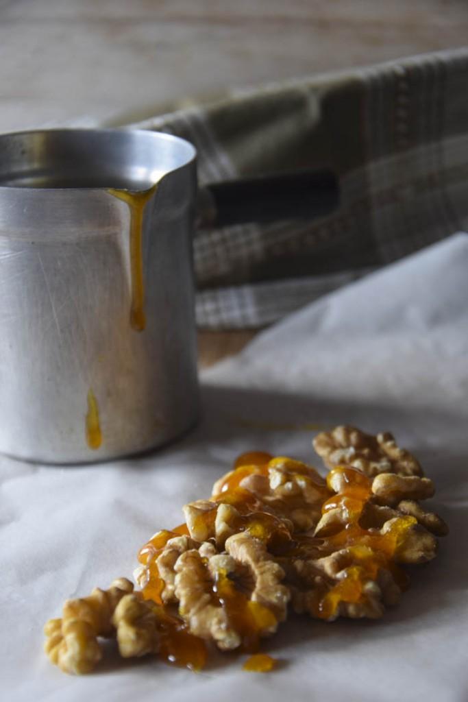 caramelized walnuts, noci, frutta secca,
