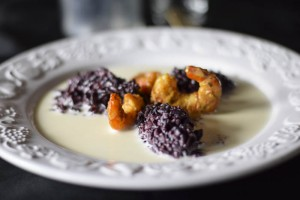 crema la gorgonzola, primi piatti, riso selvaggio