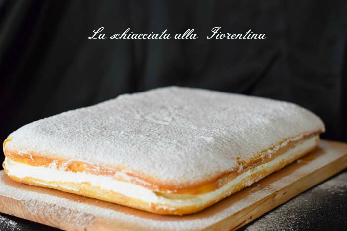 schiacciata fiorentina, tuscany recipe, ricette regionali