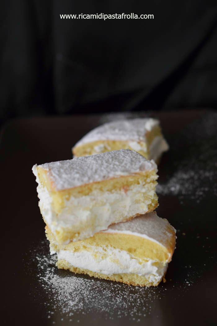 schiacciata fiorentina con panna, ricette toscane, ricetta fiorentina,