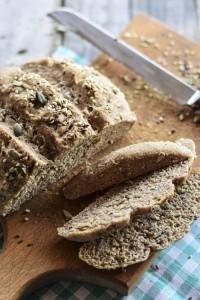 lievitati, farina integrale, pane integrale, pane fatto in casa,