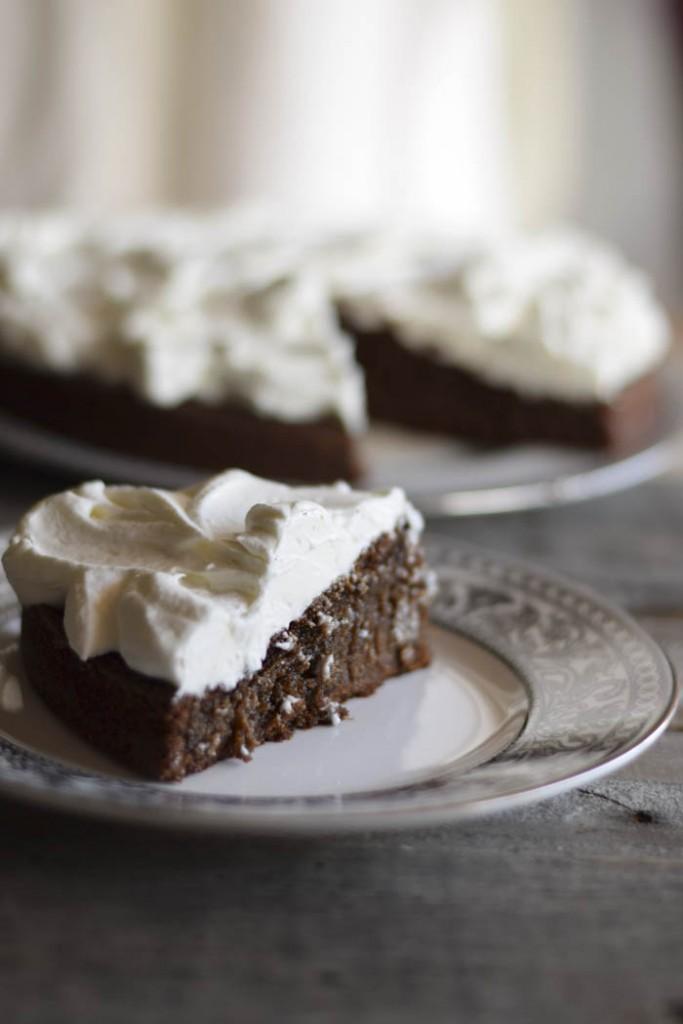 guinness cake con panna