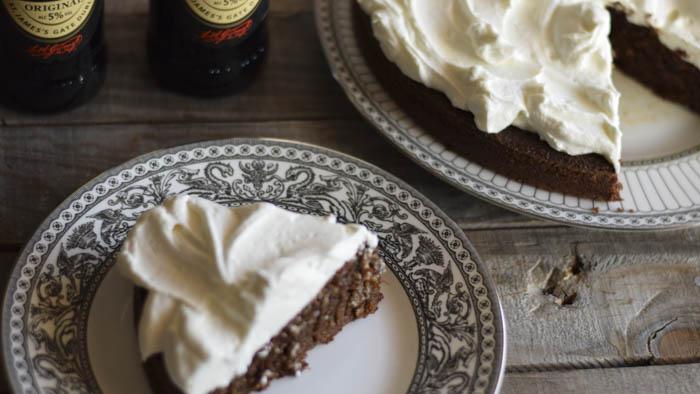 guinness cake, dolci inglesi, sweet,