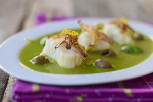 cottura pesce aleggara, ricette light, baccalà,