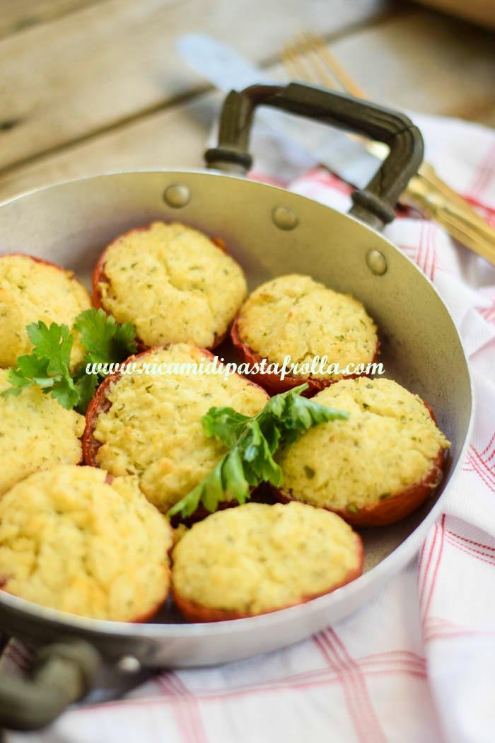 pomodori ripieni vegani, ricette vegan, secondi piatti, light, idee per cena, ricette veloci