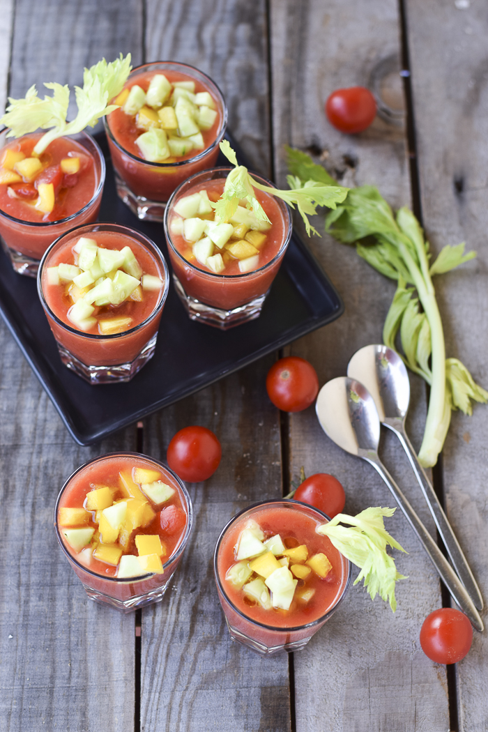 zuppa pomodoro, ricetta vegetariana