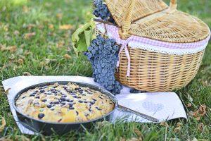 dolce con l'uva, ricette toscane, panello con l'uva, ricette settembre
