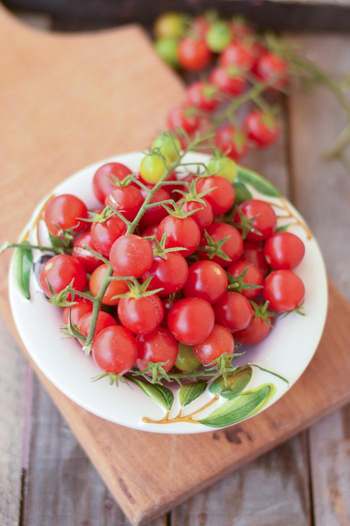 pomodorini ciliegini, conservare pomodori