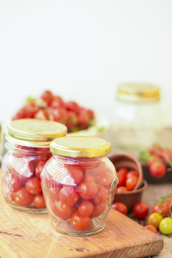 come conservare i pomodorini ciliegini per l'inverno