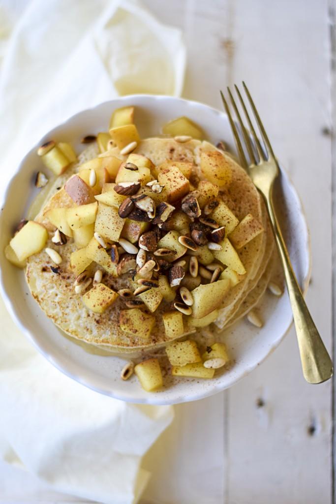 crepes dolci alla mela e cannella