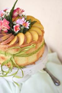 fluffosa alle pesche, chiffon cake, colazione, dolce festa compleanno