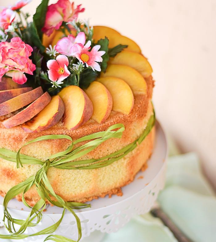 chiffon cake, ciambella americana,