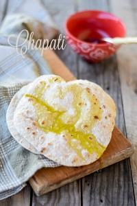 chapati, pane indiano, fatto in casa, pane senza lievito