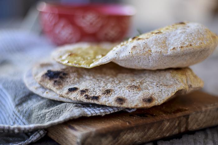 pane senza lievito,