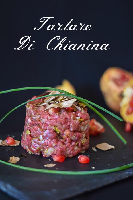 tartare di carne Chianina