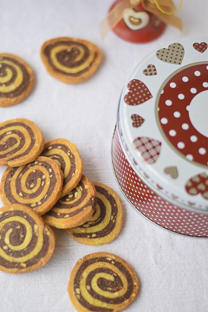 biscotti frollini vaniglia e cacao