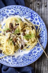 ricami di pastafrolla, pesce azzurro, ricette pesce, ricette spaghetti, pasta