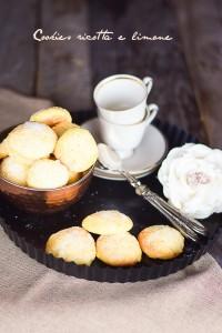 biscotti alla ricotta, biscotti morbidi, biscotti da tè