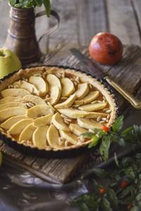 crostata di mele, crostata di mele della nonna