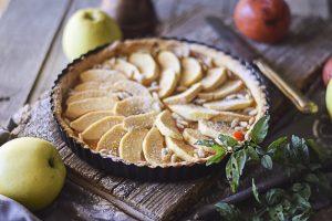 crostata di mele, ricette facili, dolci dispensa,
