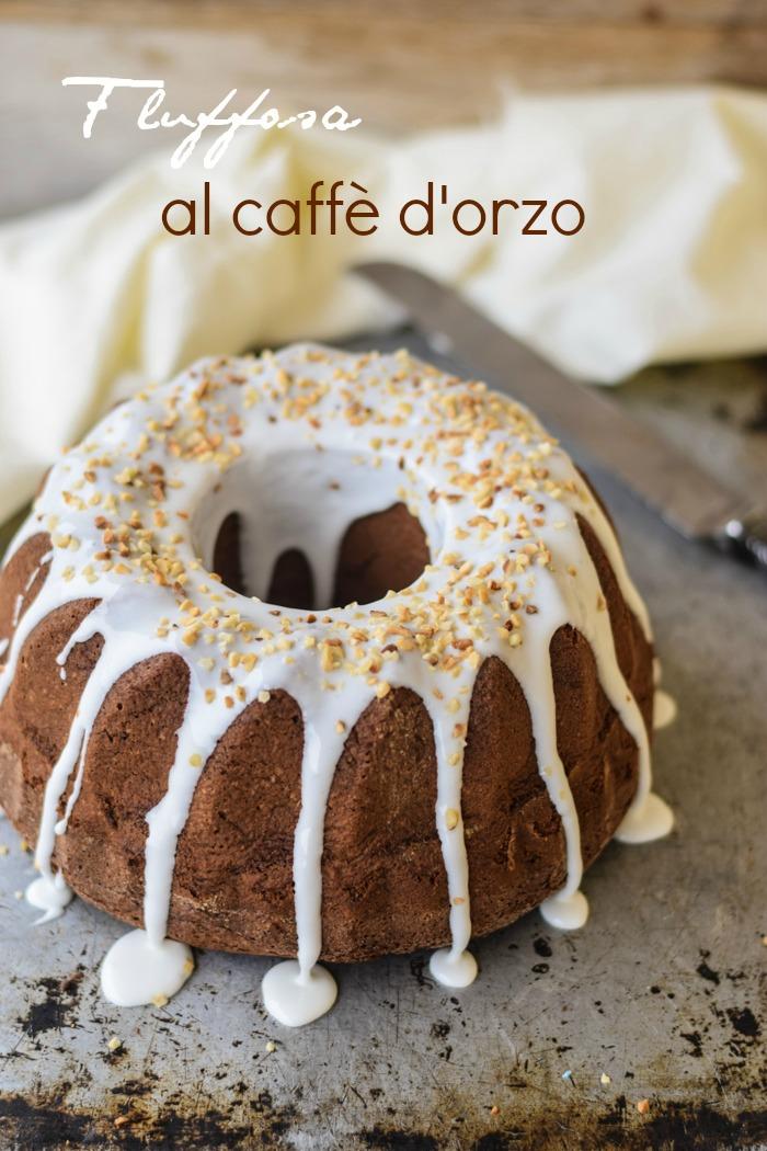 fluffosa, chiffon cake, farina di castagne, dolce al caffè, dolci americani, ciambella americana