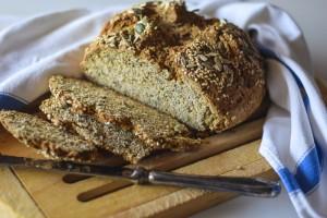 soda bread, pane senza lievito, ricetta veloce