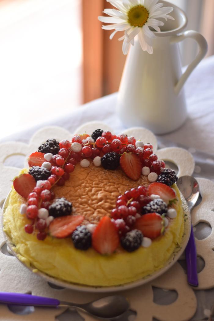 japanese cotton cheesecake, dolci senza glutine,