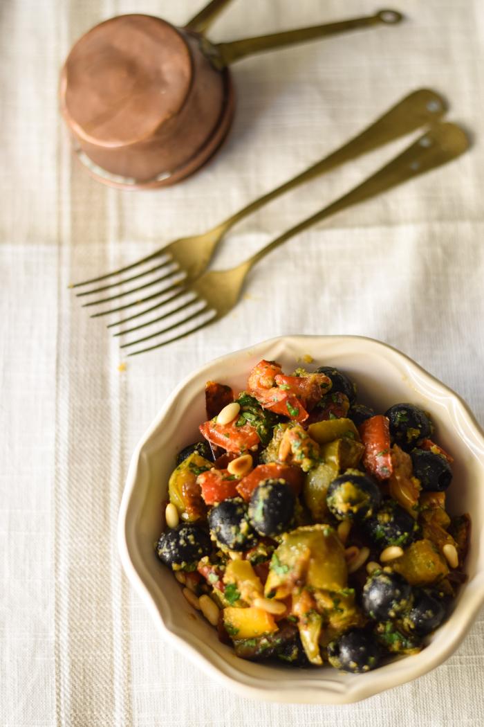 peperoni al forni, ricetta peperoni, contorno peperoni,